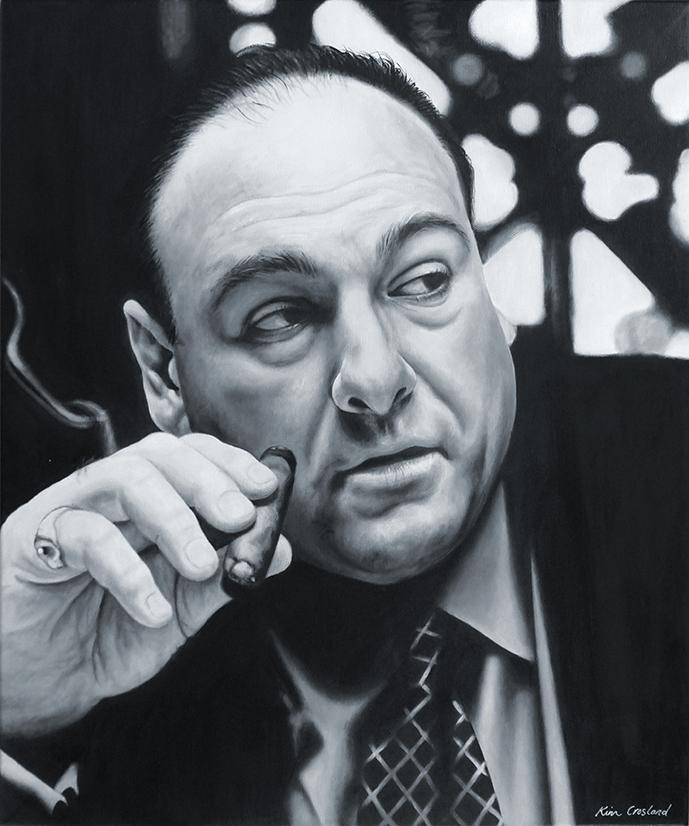 James Gandolfini by chaosart